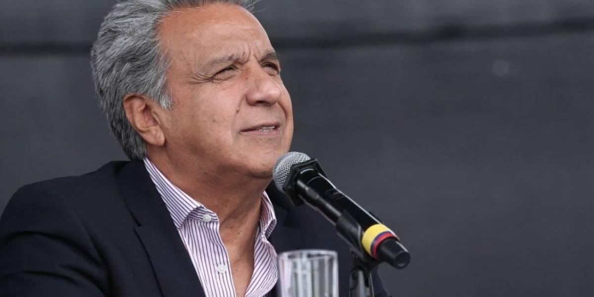 """Lenín Moreno: Se robaron la base de datos del plan """"Toda una Vida"""""""