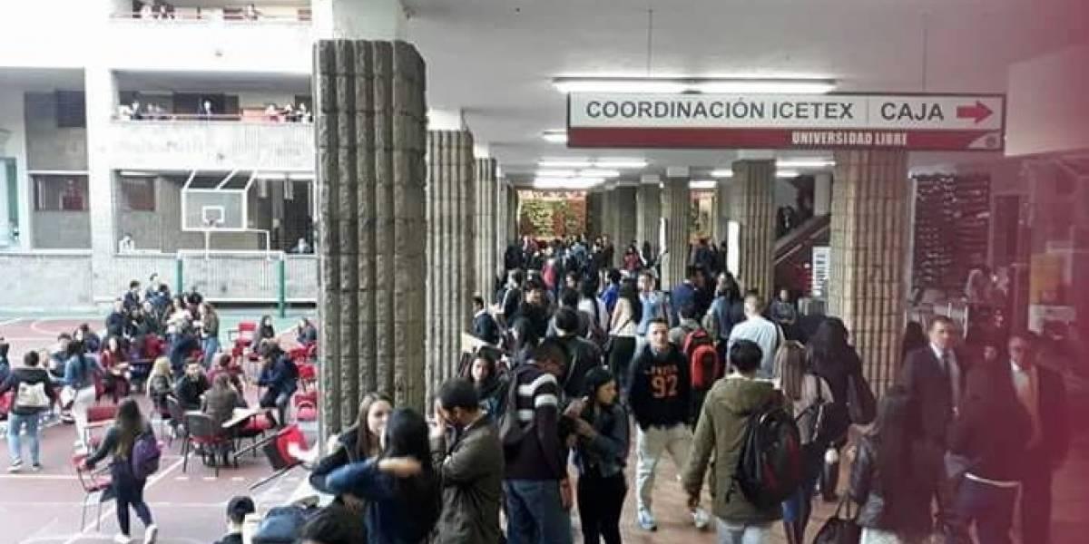 ¡Atención! Estudiantes de reconocida universidad protestan a esta hora por alza de matrículas
