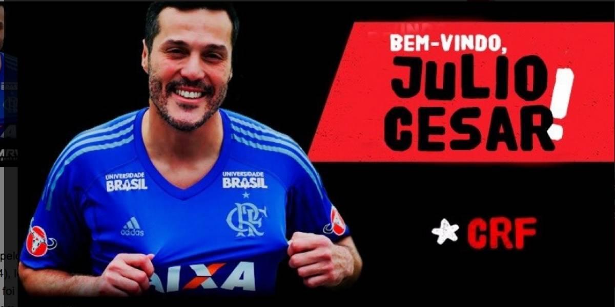 Flamengo anuncia retorno do goleiro Julio Cesar para encerrar a carreira