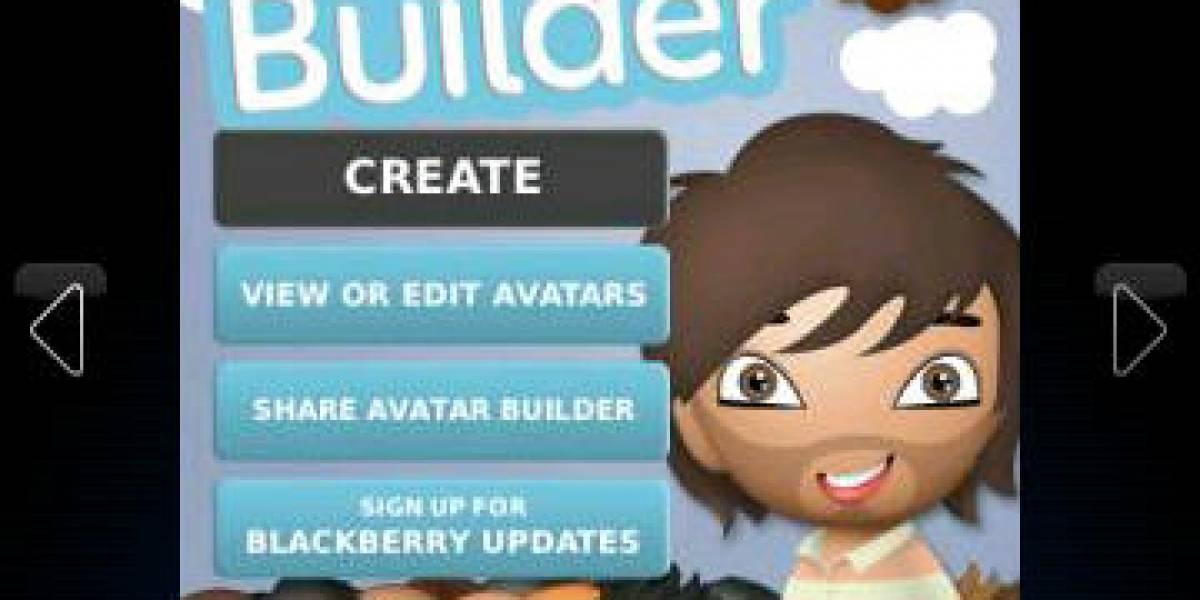 RIM lanza aplicación oficial para crear tu avatar