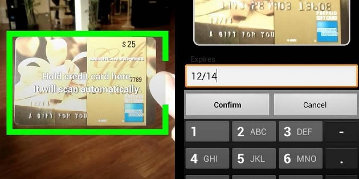card.io lanza su SDK para Android
