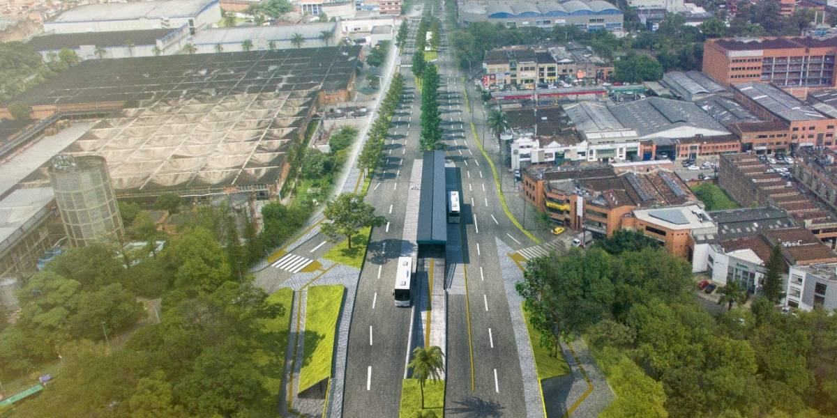 ¡Atención! Inicia la construcción del corredor de la 12 sur desde la FLA hasta Guayabal
