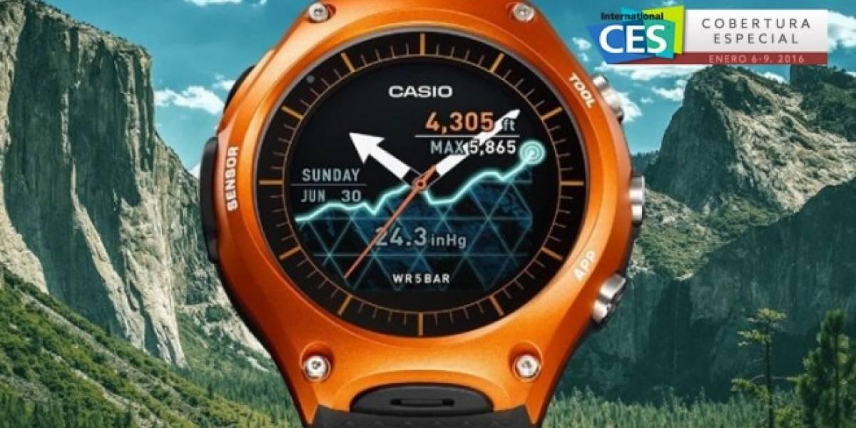 Casio lanza su primer smartwatch con Android Wear #CES2016