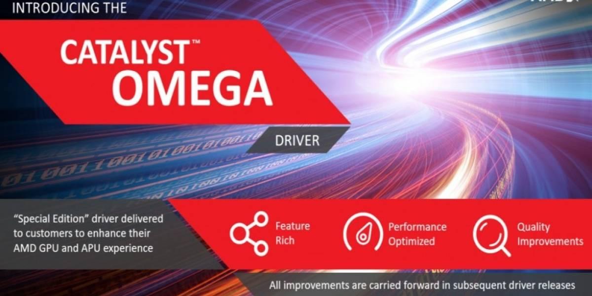 AMD lanza Catalyst Omega, la mayor actualización de sus drivers en mucho tiempo