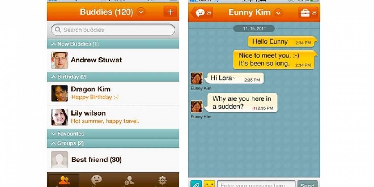 ChatON de Samsung ya disponible para iOS