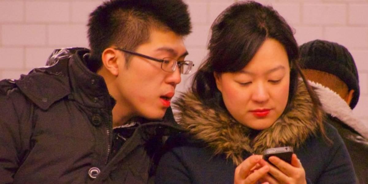 Los chinos prefieren leer libros en su teléfono móvil