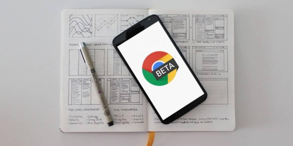 Chrome Beta se actualiza con mejoras estéticas y funcionales