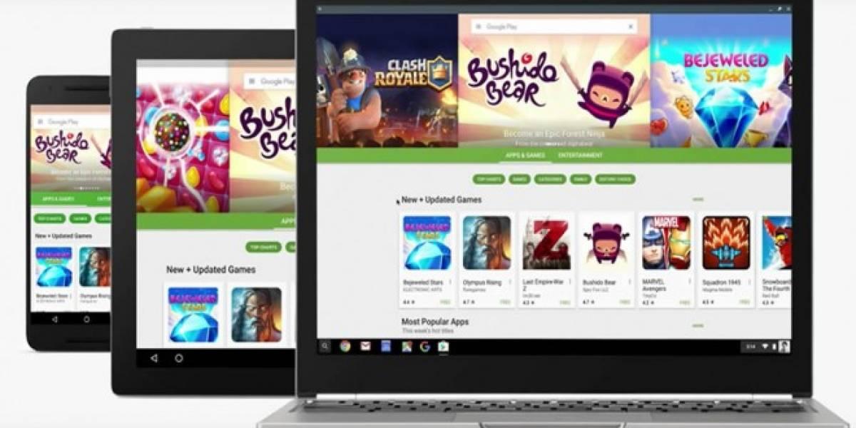 Así lucen las aplicaciones de Android en un Chromebook