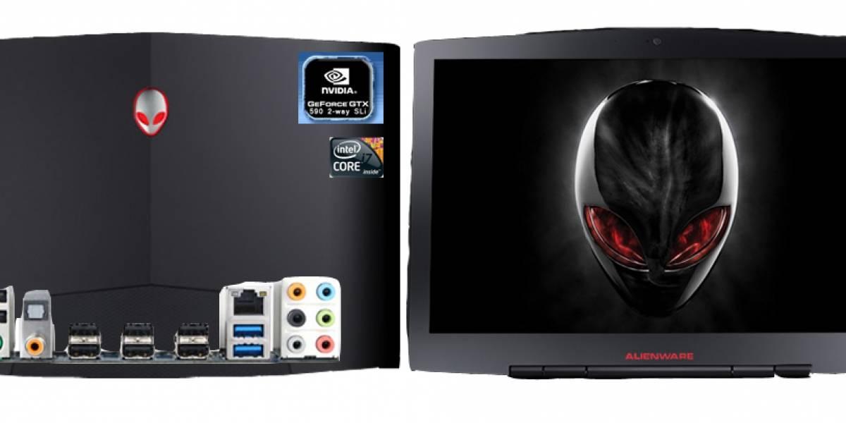 Alienware no cierra las puertas a un tablet y mira con deseo a Thunderbolt