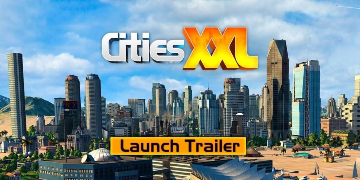 Cities XXL se estrena hoy en Steam, con tráiler