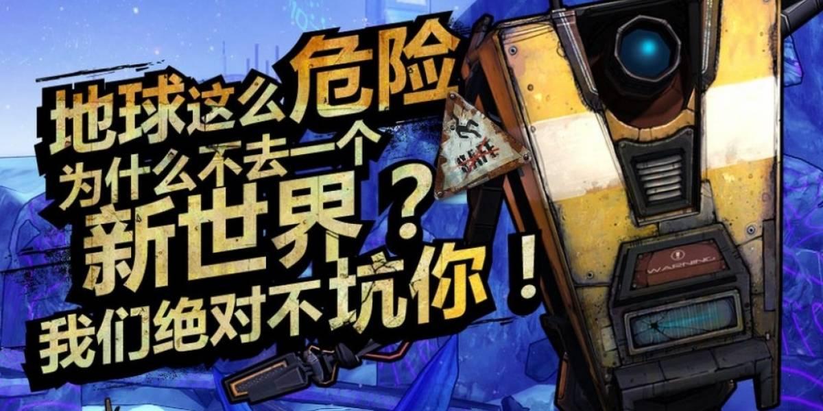 Borderlands Online será un MMO solo para China