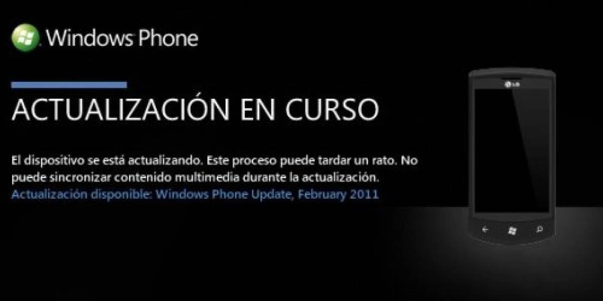 Microsoft libera la primera actualización completa para Windows Phone 7