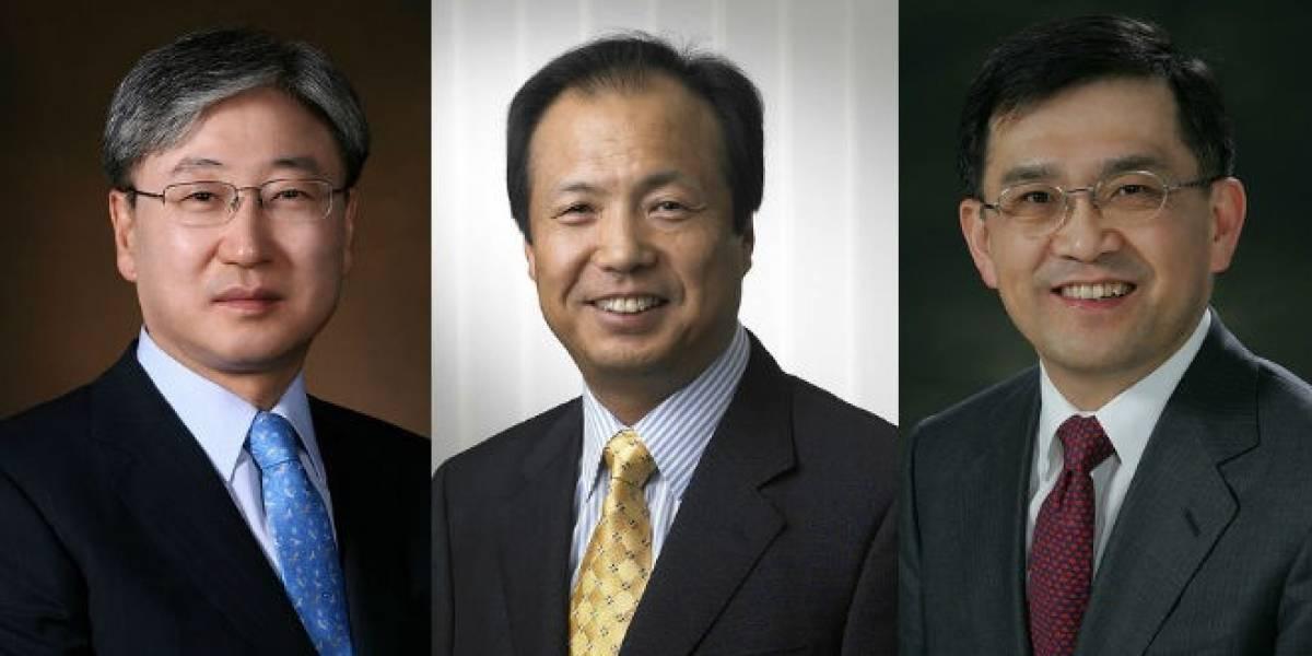 Samsung ahora tiene tres CEOs