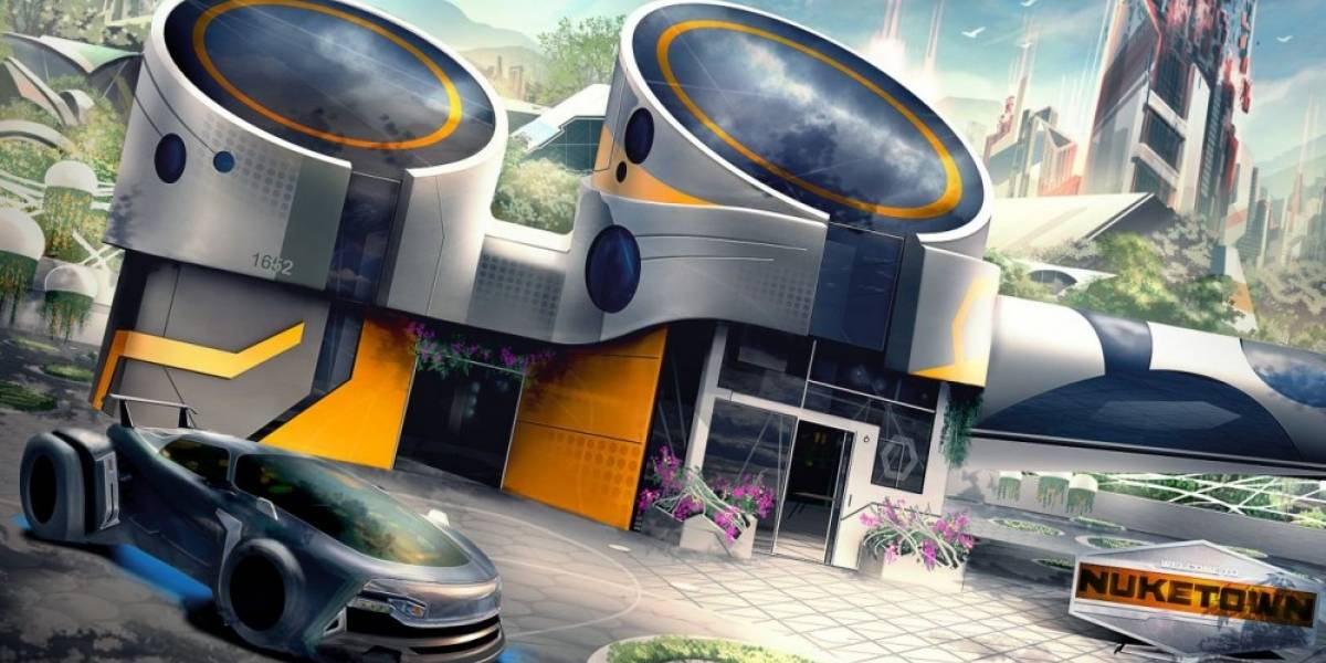 El mapa Nuketown estará de regreso en Call of Duty: Black Ops 3