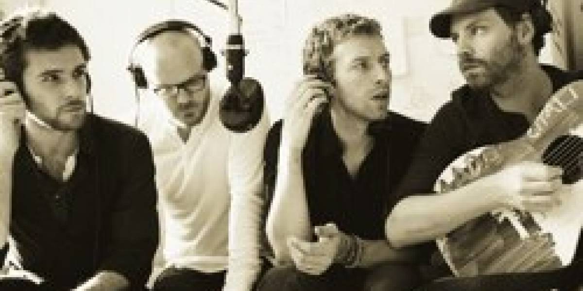 Coldplay canta en LIPS