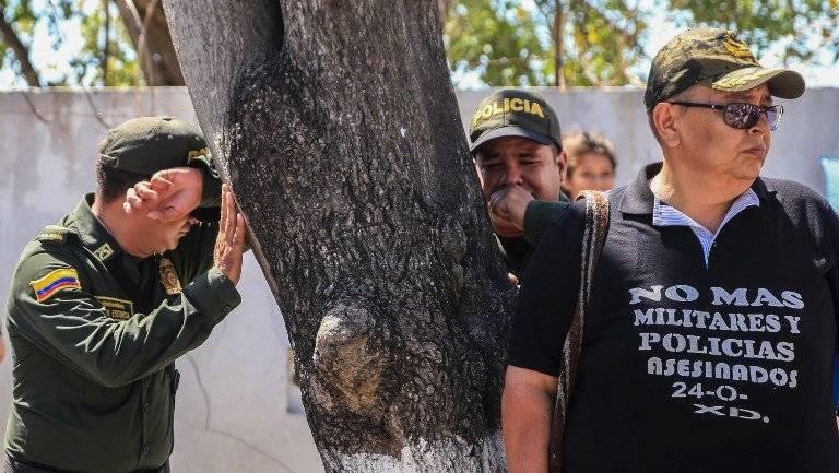 Atentados contra la policía de Colombia