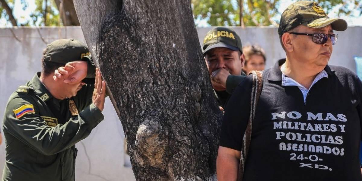 Colombia atribuye al ELN atentados contra la Policía