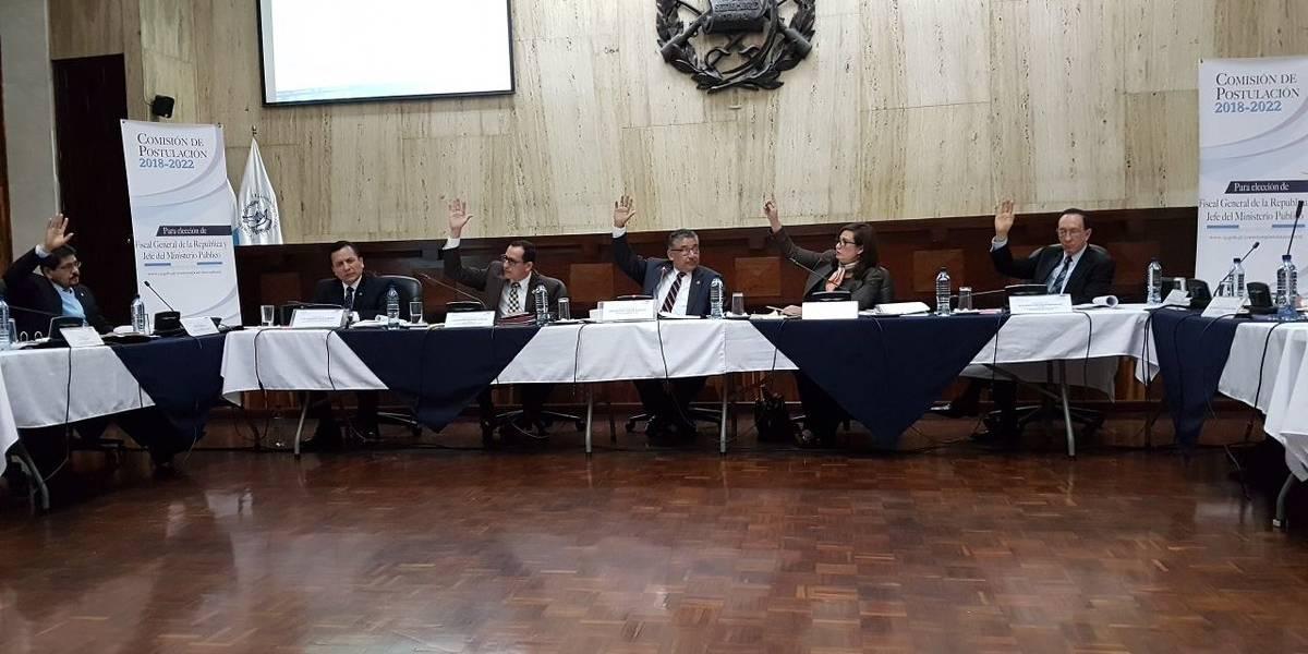 Postuladora a Fiscal General aprueba tabla de gradación para evaluar a aspirantes