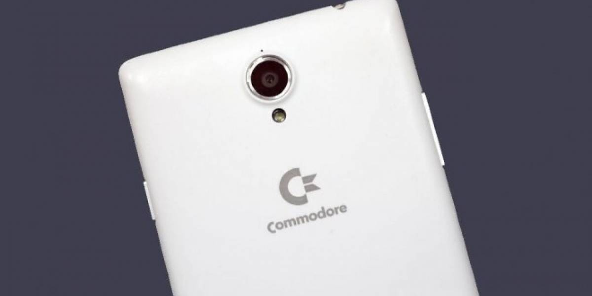 Commodore vuelve como un phablet Android