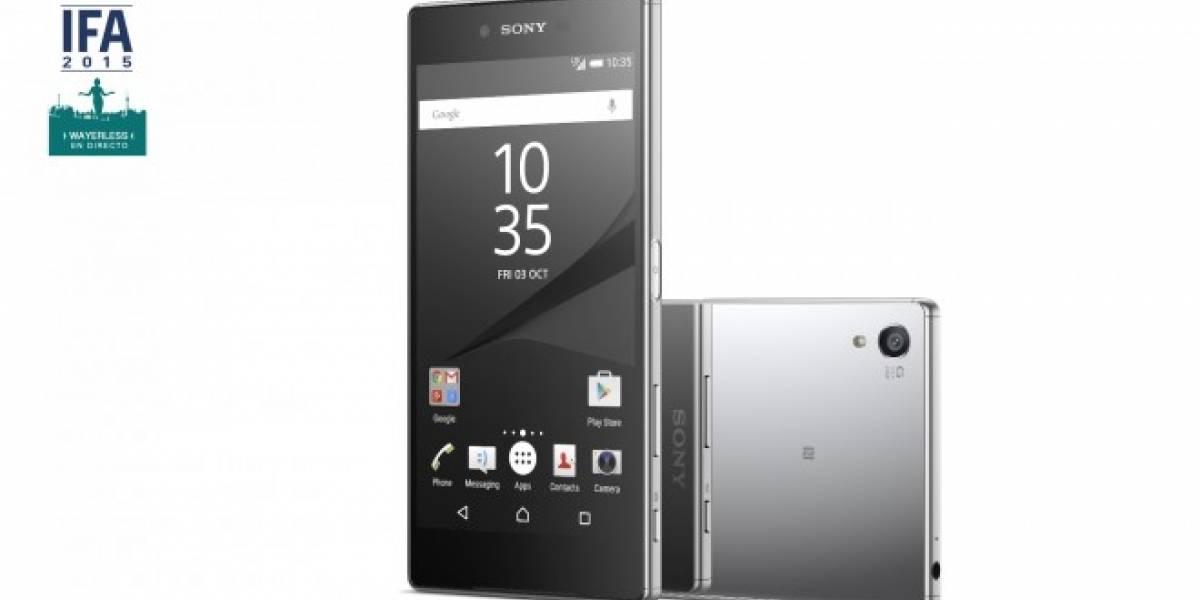 Tabla comparativa: Sony Xperia Z5 Premium versus Smartphones actuales #IFA15