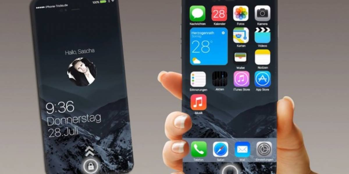 Video conceptual de iPhone 7 elimina el botón de inicio, como Android