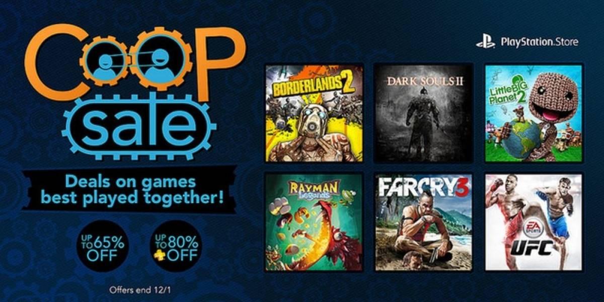 Sony arranca venta especial de títulos multijugador en PlayStation Store
