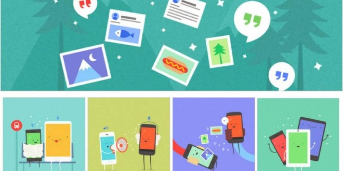 Google Copresence quiere intercomunicar dispositivos Android y iOS