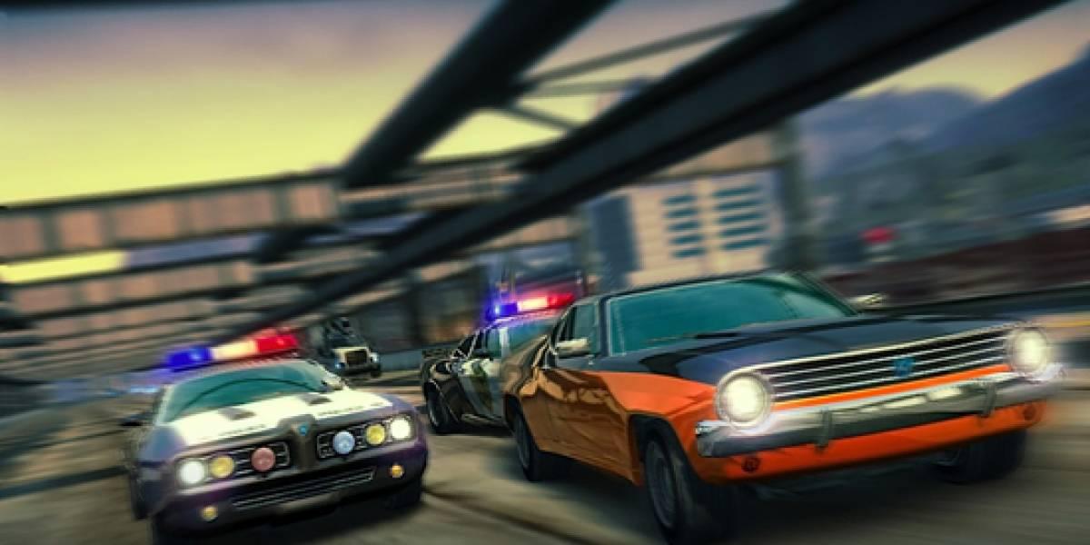 Policías y Ladrones en Burnout Paradise