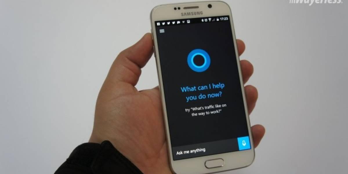 El APK de Cortana para Android se filtra en redes sociales