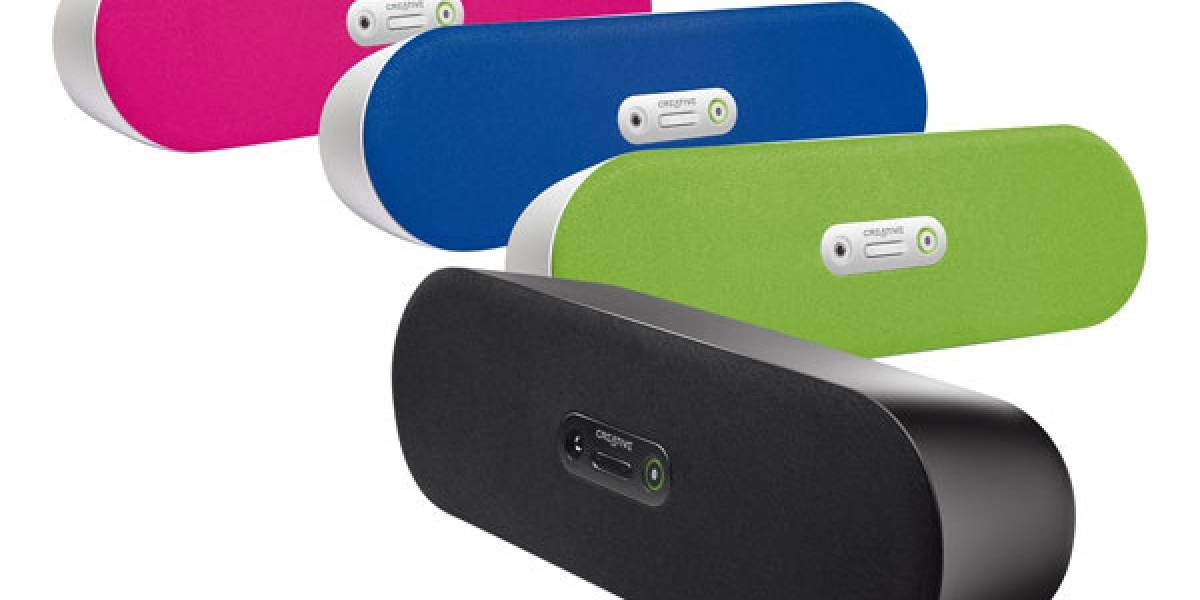 Creative lanza unos altavoces con bluetooth