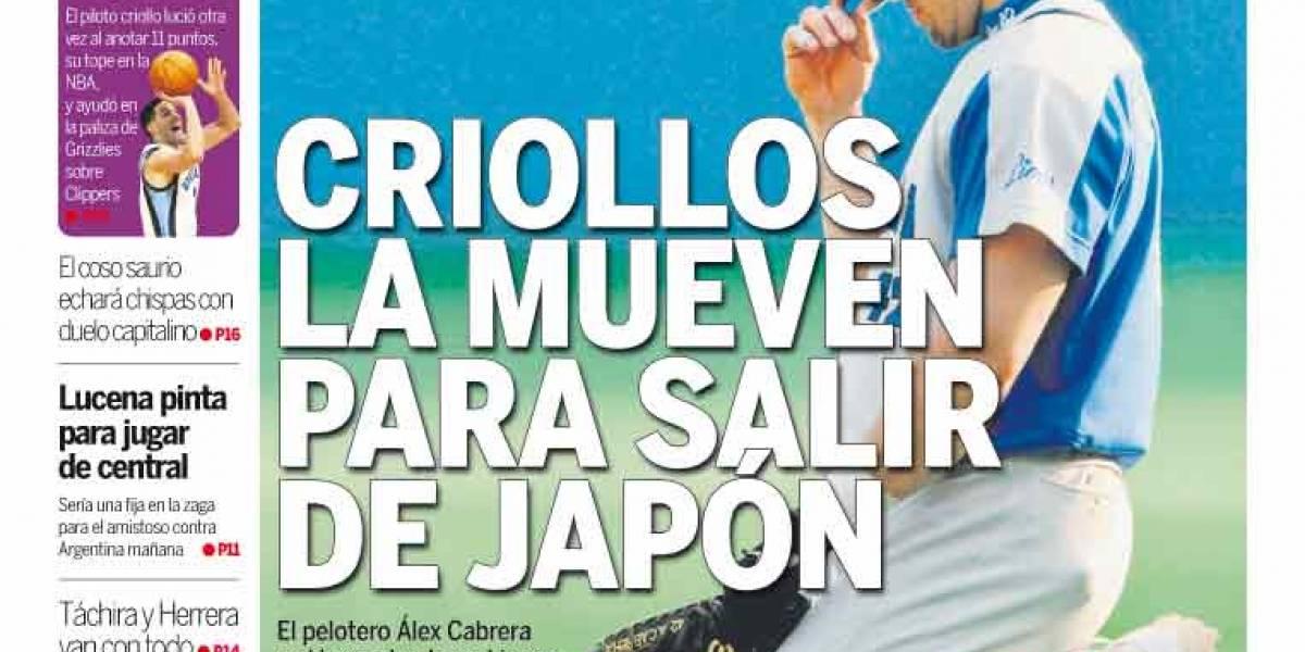 Venezuela: Diario deportivo Líder primero con aplicación para iPad