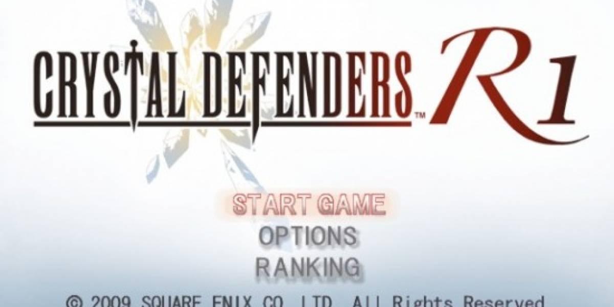 Square Enix presenta Crystal Defenders para la Wii