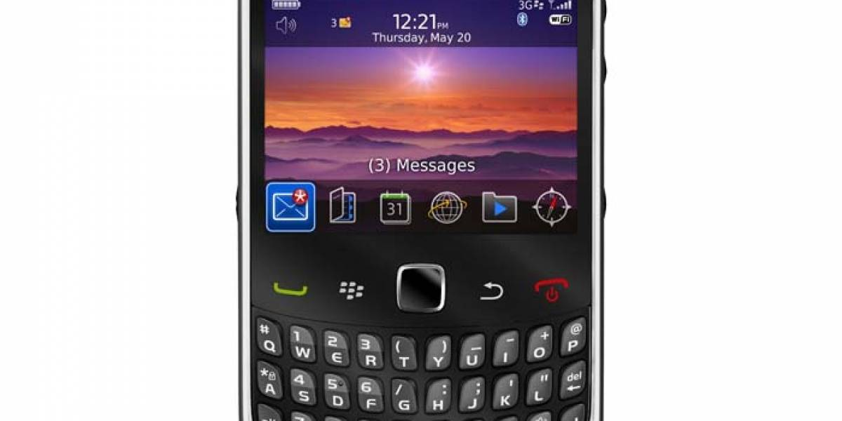RIM lanza en Chile el BlackBerry Curve 3G