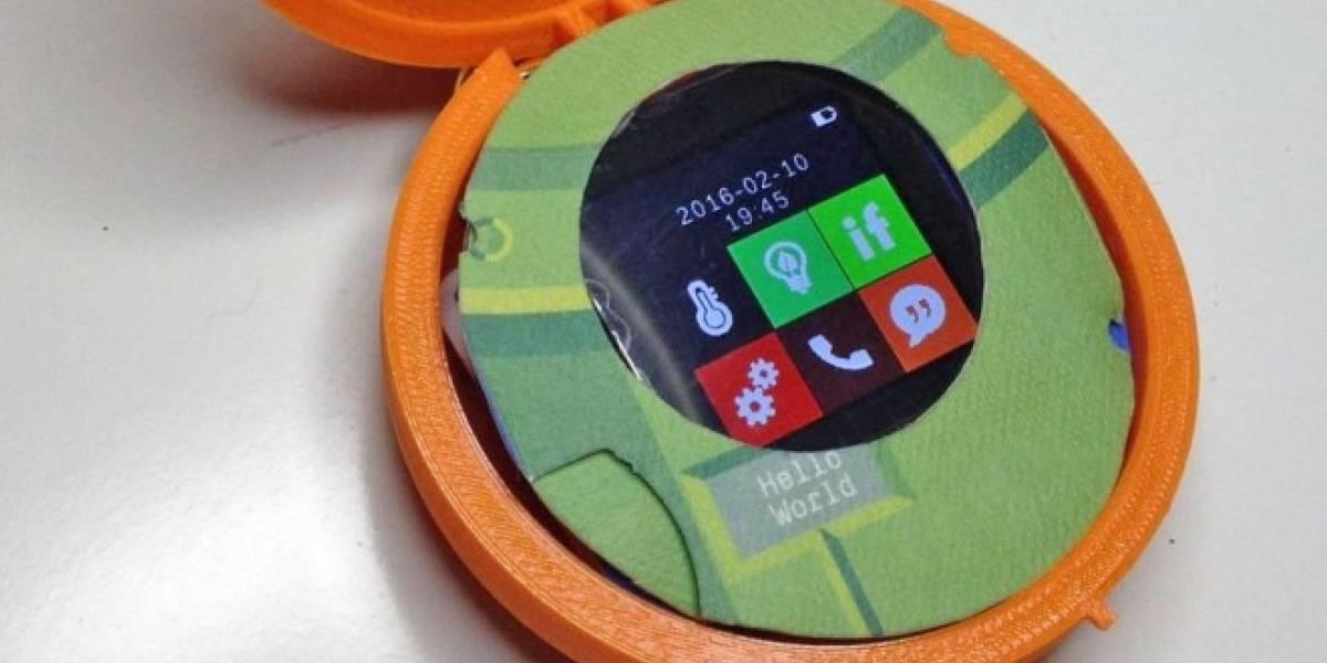 Cyrcle es un smartphone redondo y casi sexista diseñado para mujeres