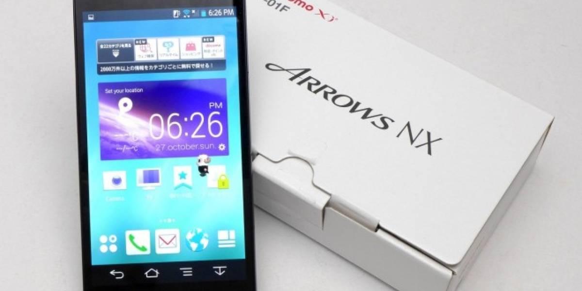 Fujitsu Arrows NX F-04G es el primer teléfono con reconocimiento de iris