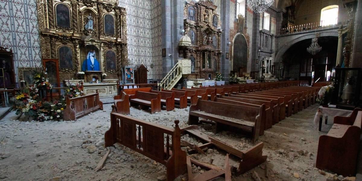 Más de mil templos fueron afectados por sismos de septiembre: Episcopado