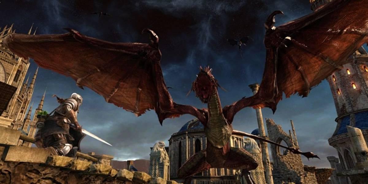 Dark Souls II llegará a PS4 y Xbox One en abril