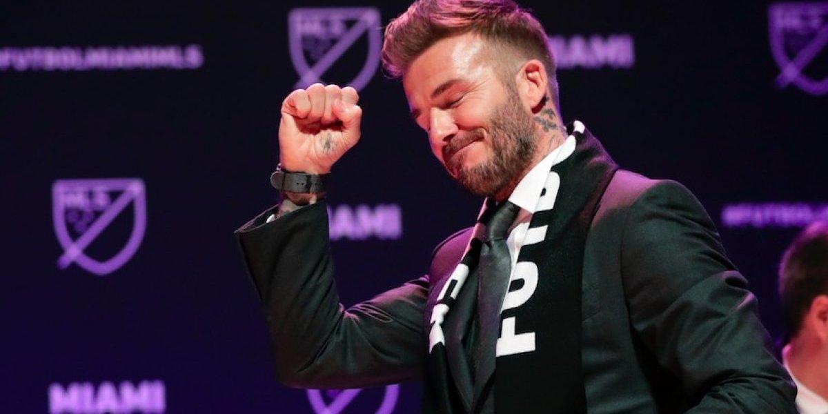La MLS anuncia al equipo de David Beckham