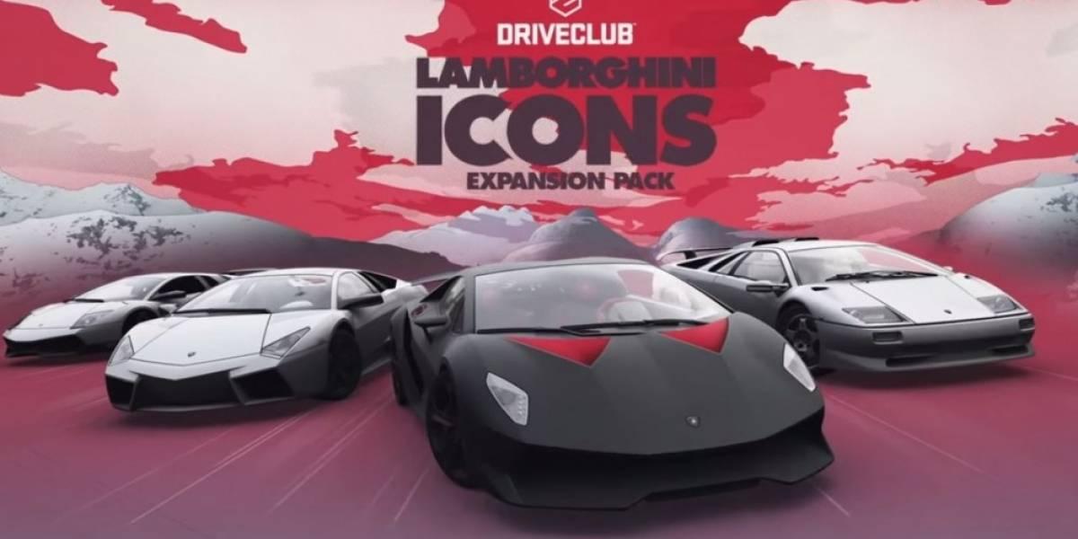 Fecha de lanzamiento de la expansión Lamborghini Icons para DriveClub