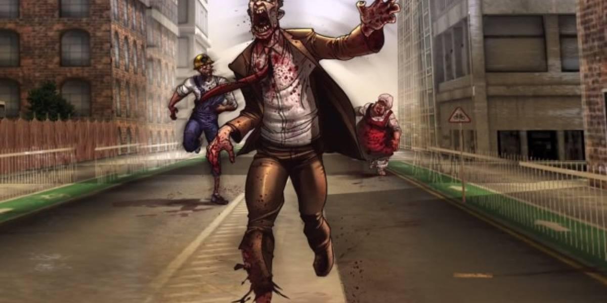 Dead Among Us, un juego para matar zombies con una mano