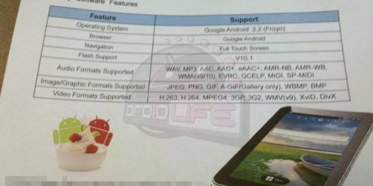 Samsung Galaxy Tab WiFi podría costar sólo $399 dólares