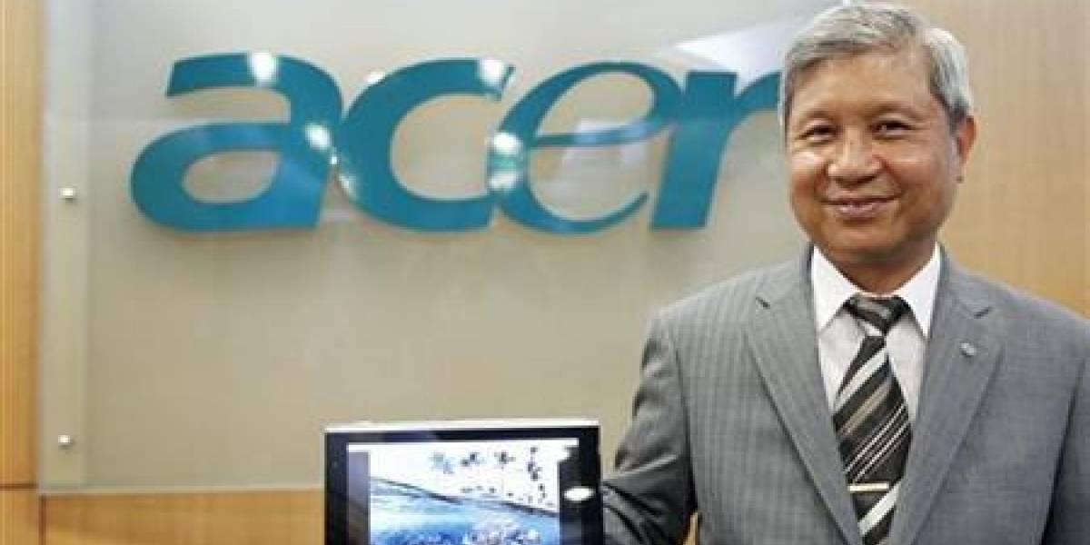 Acer reduce a casi el 60% metas de envíos en 2011