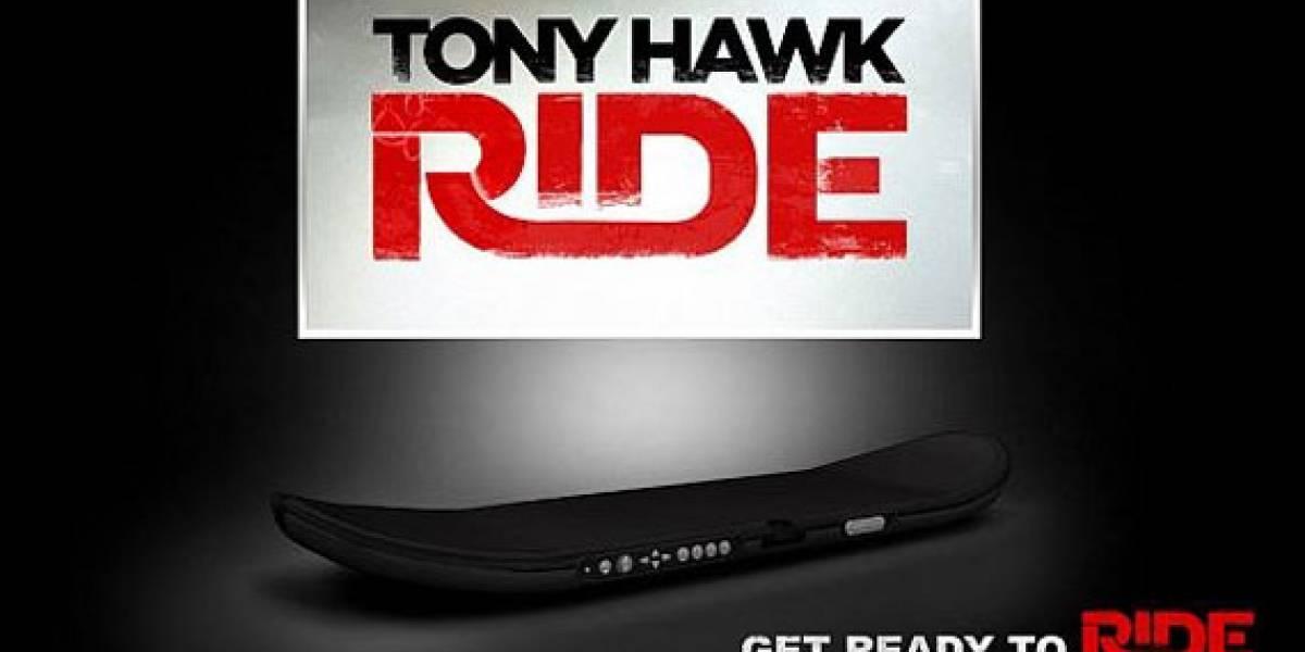 Tony Hawk Ride debuta con nuevo periférico