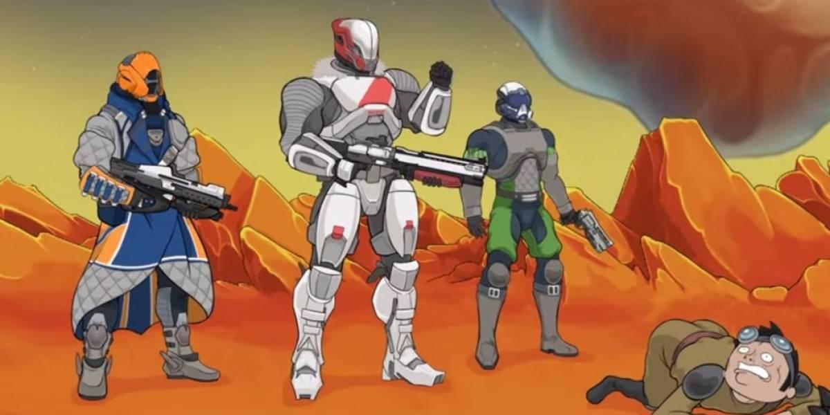 Divertida animación muestra similitudes entre Destiny y Halo