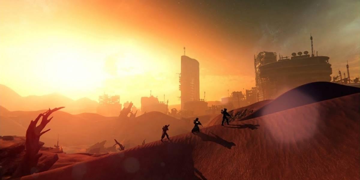 Destiny recibe nuevo tráiler con jugabilidad en Marte #gamescom2014