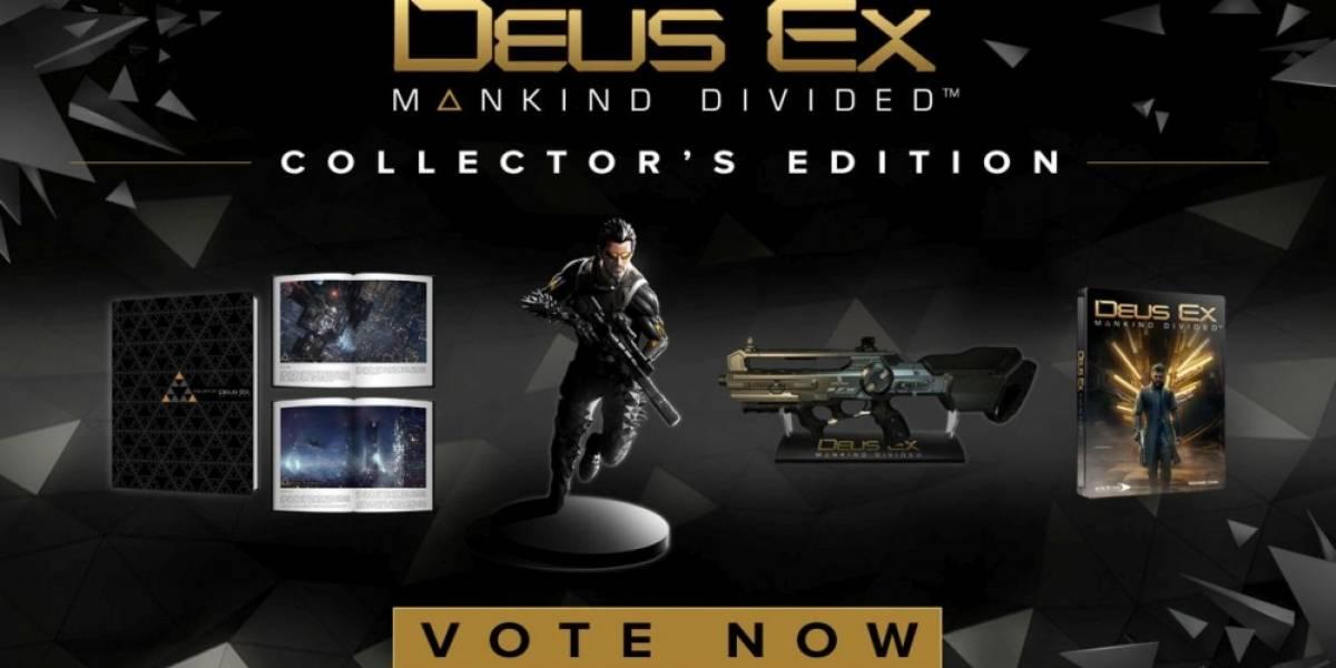 Los fans decidirán el contenido de la Edición de Colección de Deus Ex: Mankind Divided