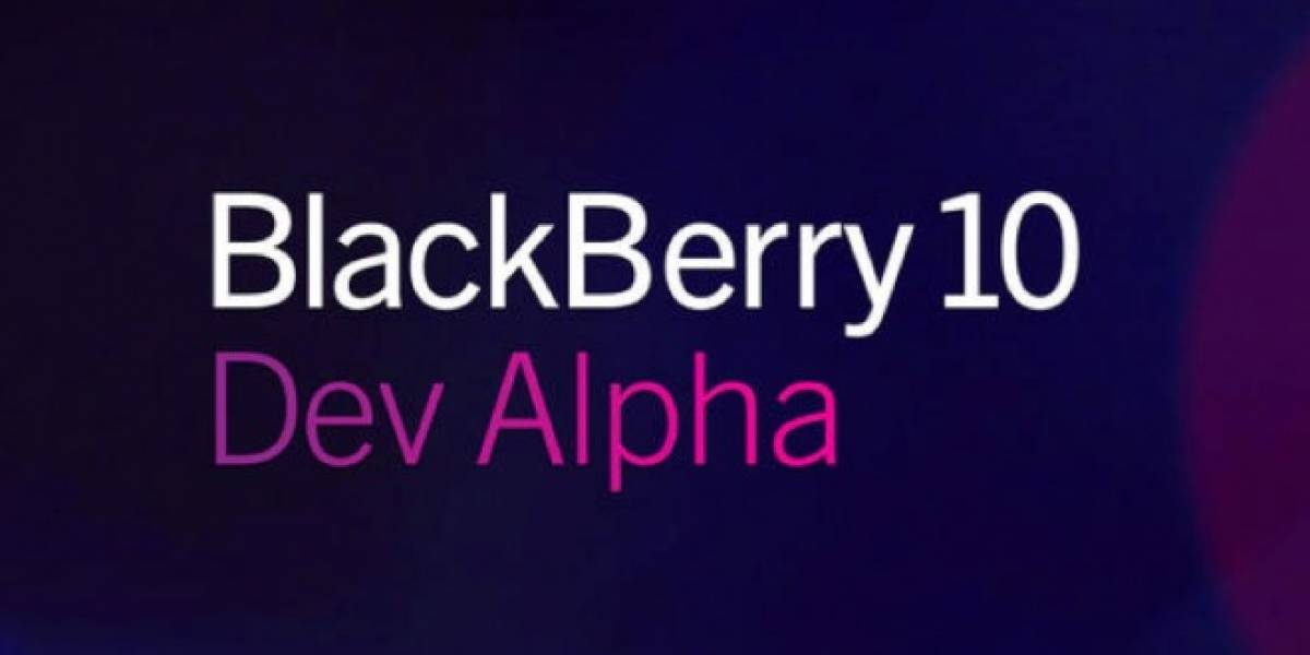 Dev Alpha C, el nuevo dispositivo para probar BlackBerry 10