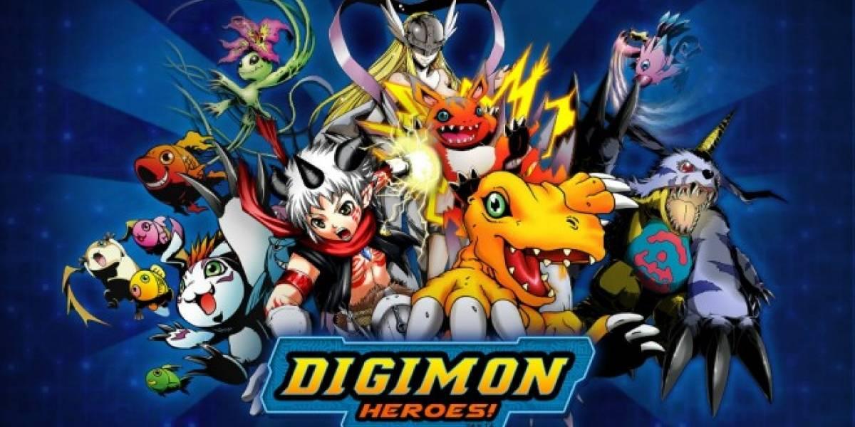 Digimon Heroes se lanza en iOS y Android