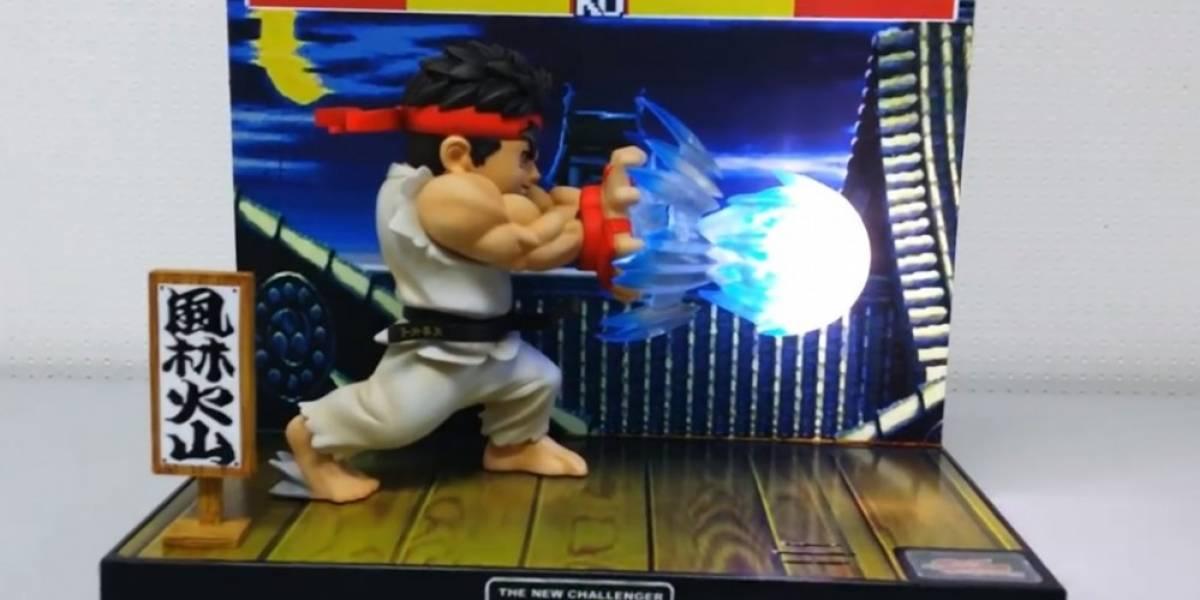 Increíble diorama de Ryu se empezará a vender en marzo en Play-Asia