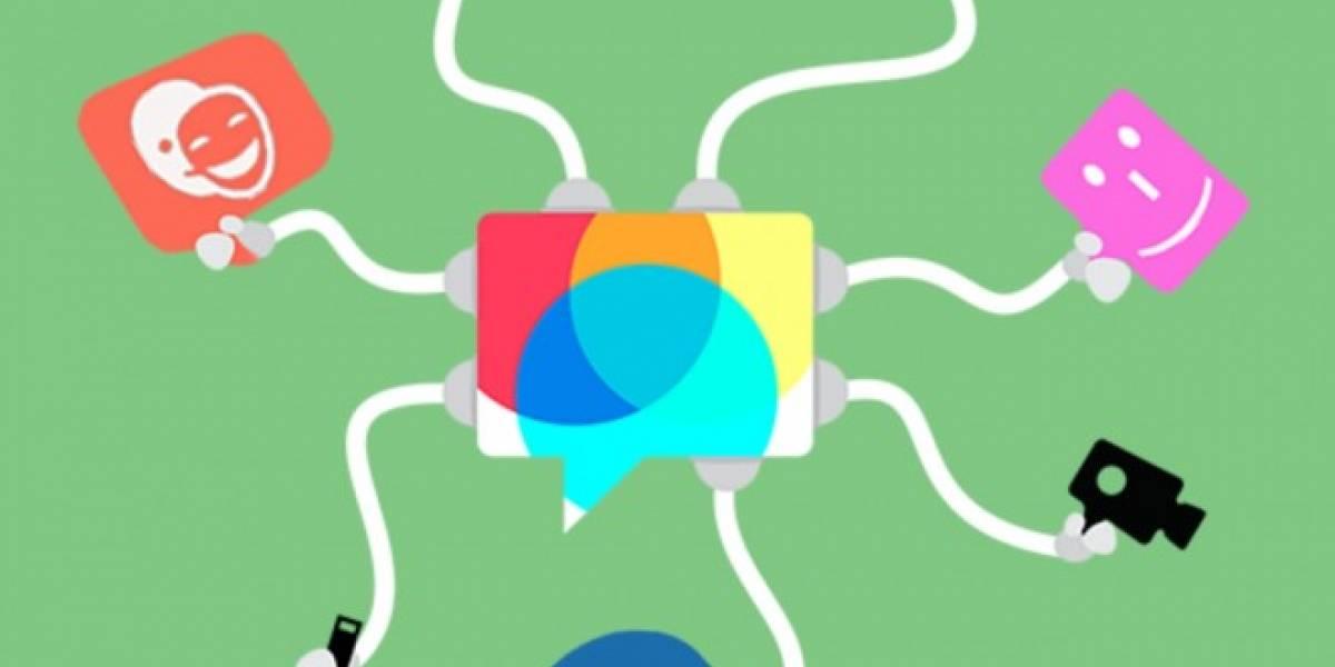 Disa es un cliente para conectar los servicios de chat que queramos en móviles
